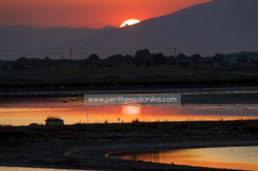 Wishing you a nice night from the lagoon Kalochori. Until we see each other again tomorrow!  The lagoon of Kalochori, Thessaloniki / Greece, 30.06.2016. © Aris Papadopoulos