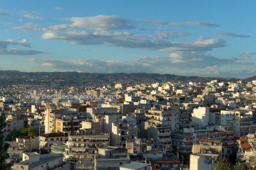 Gemeinde von Neapoli-Sykies, Gemeinde von Pavlos Melas, Gemeinde von Oreokastro, Sivri-Gebirgskette, Thessaloniki, Zentralmakedonien, Griechenland. © Aris Papadopoulos