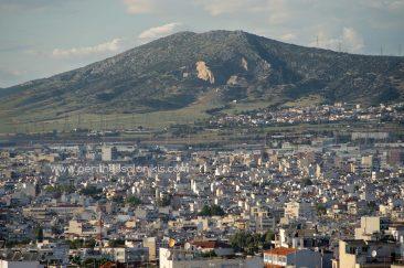 Gemeinde von Pavlos Melas, Gemeinde von Oreokastro, Sivri-Gebirgskette, Thessaloniki, Zentralmakedonien, Griechenland. © Aris Papadopoulos