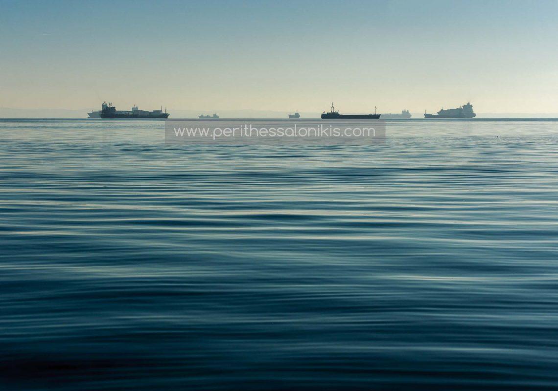 Schiffe im Thermaischen Golf