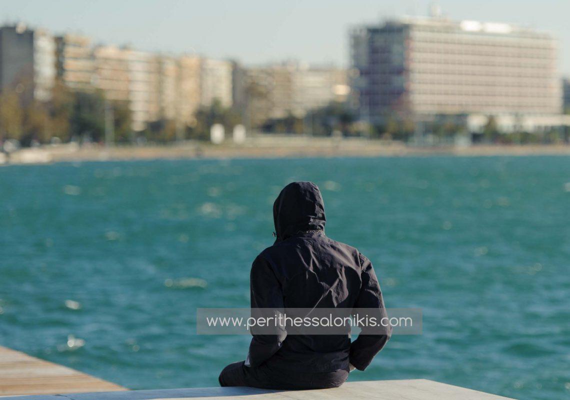 Liebe an der Promenade von Thessaloniki