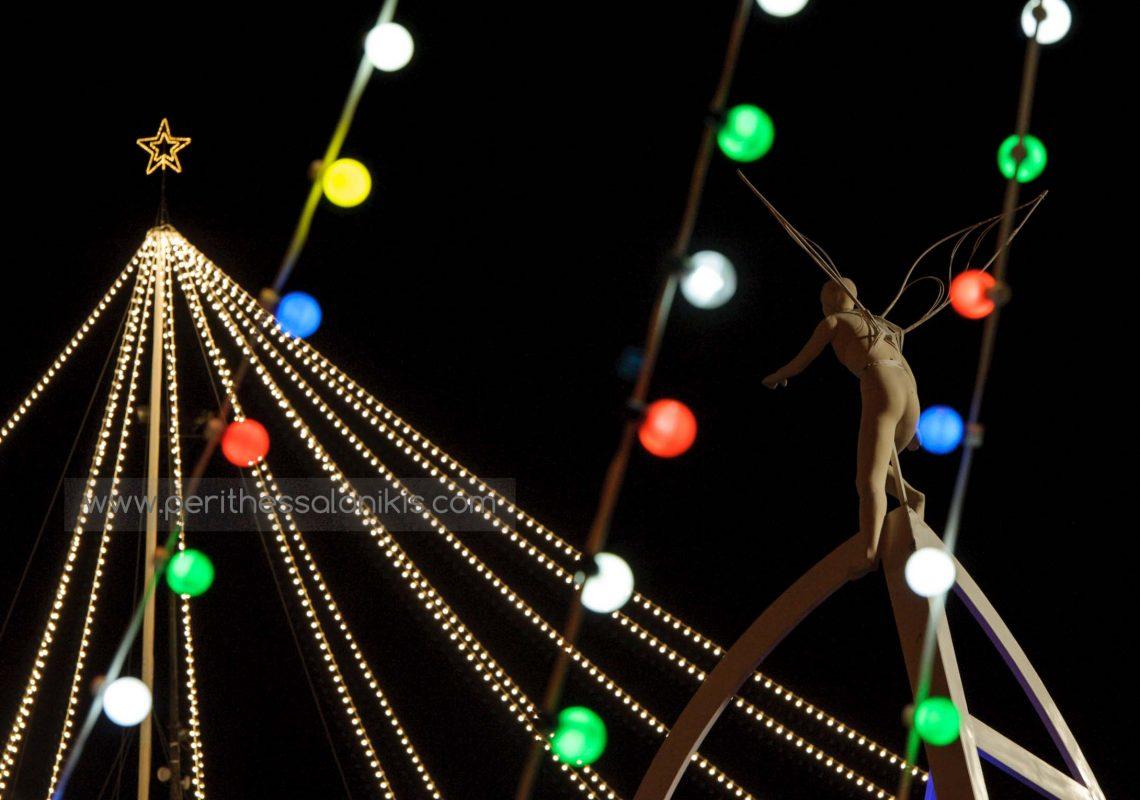 Christmas 2016, Aristotelous Square