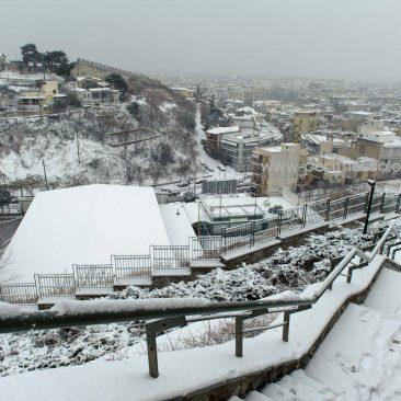 Επιτέλους, χιόνισε και στην Θεσσαλονίκη!