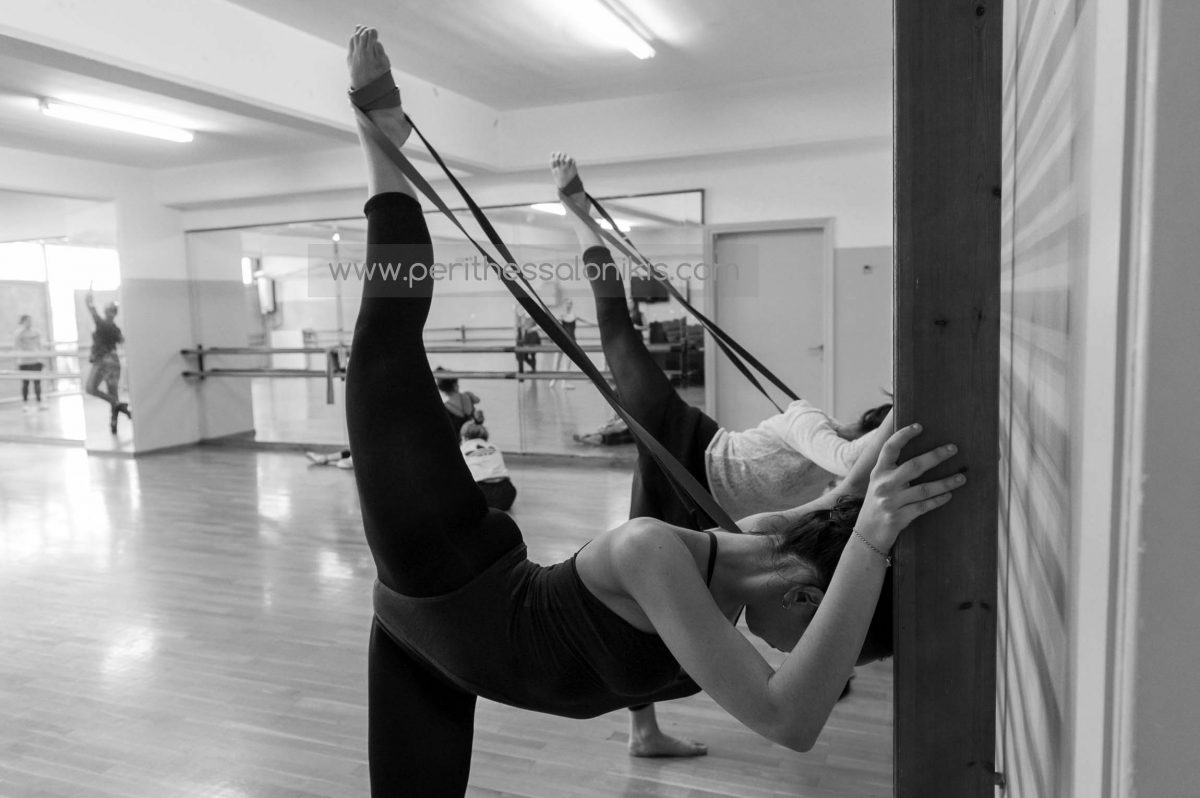 Ανώτερη επαγγελματική σχολή χορού δήμου Θεσσαλονίκης. Photo © Aris Papadopoulos
